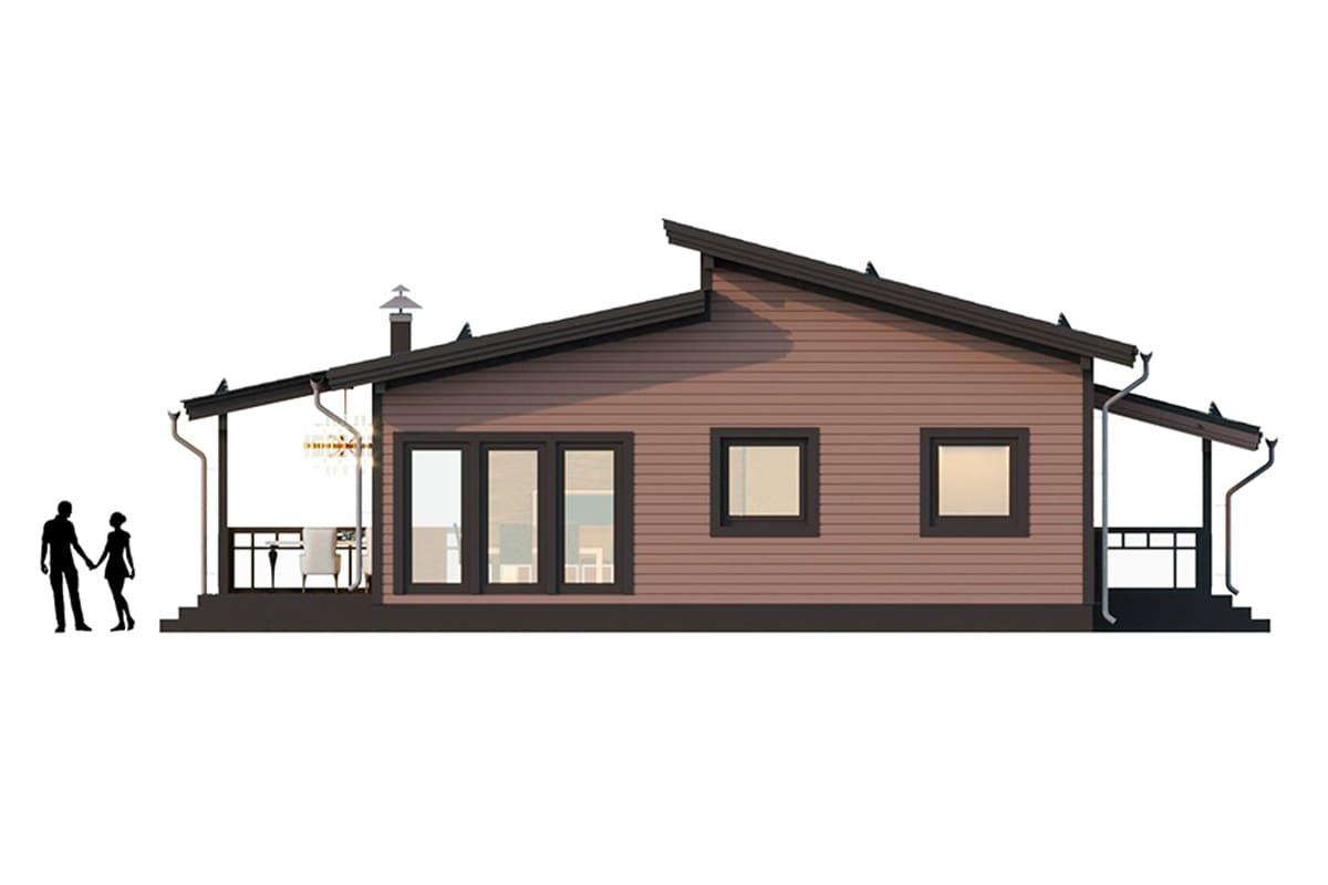 Фото плана дома до 150 м²
