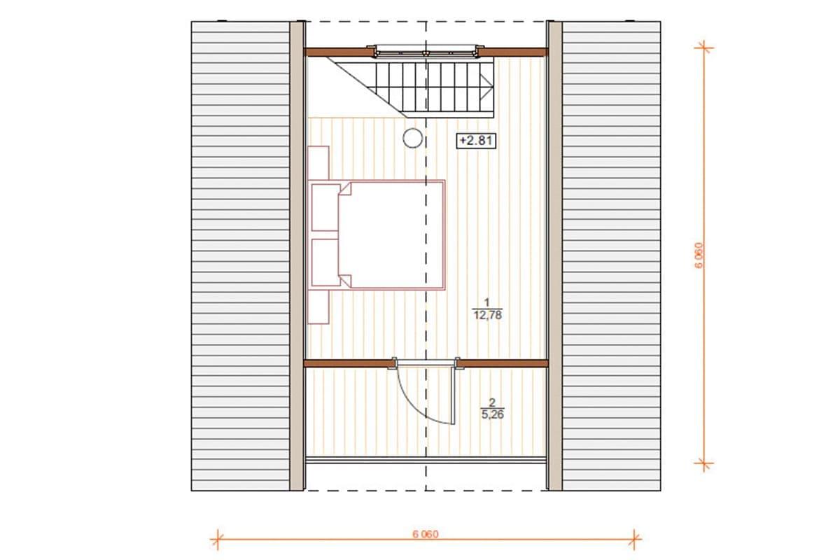Фото плана дома до 100 м²