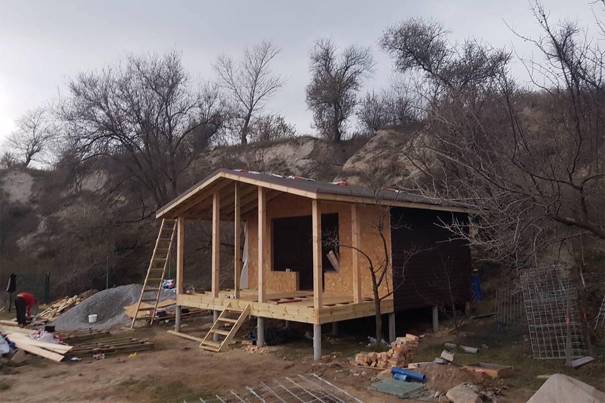 фото каркасного дома